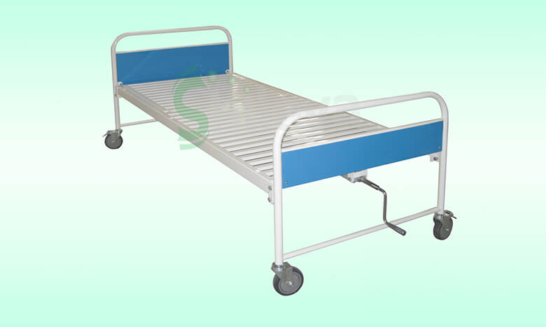 SLV-B4012-1塑钢单摇床,Plastic-spray-steel-bed