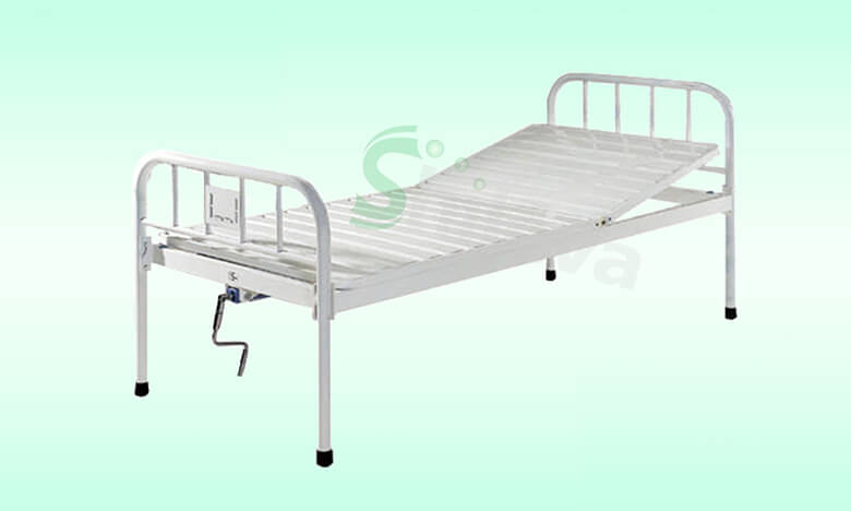 SLV-B4012塑钢单摇床,Plastic-spray-steel-bed