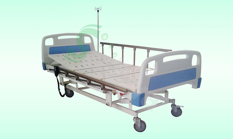 ABS电动三功能监护床SLV-B4131,ABS-Three Electric Medical Care Bed