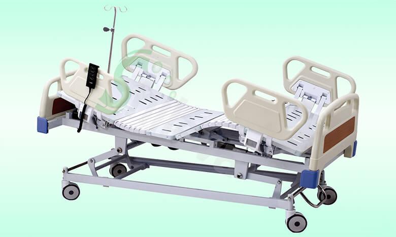 五功能电动床SLV-B4150,Five-function Electric Medical Care Bed