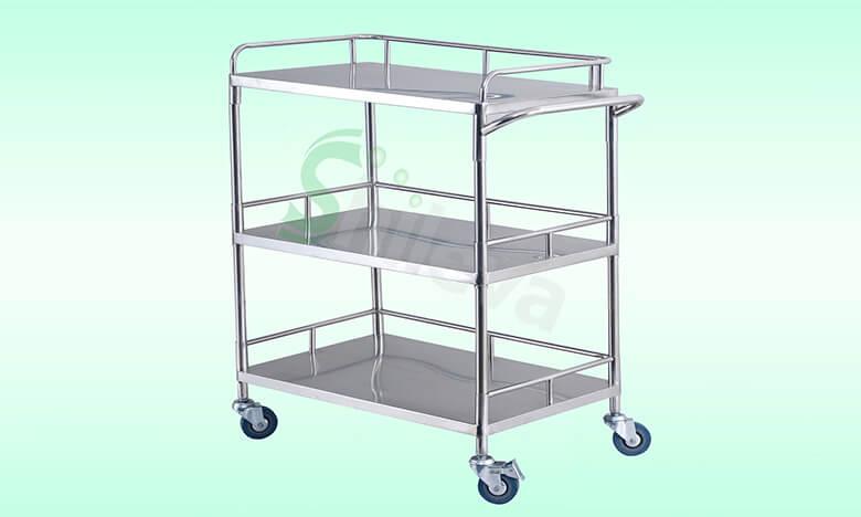 SLV-C4002三层器械车,Treatment-Trolley