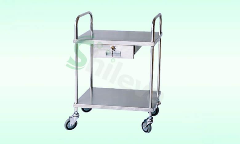 SLV-C4003不锈钢治疗车,Treatment-Trolley