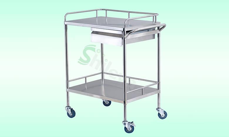SLV-C4004不锈钢治疗车,Treatment-Trolley