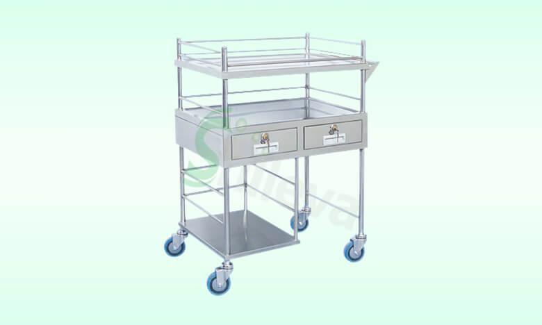 SLV-C4018换药车,Dressing&Medicine-Change-Cart