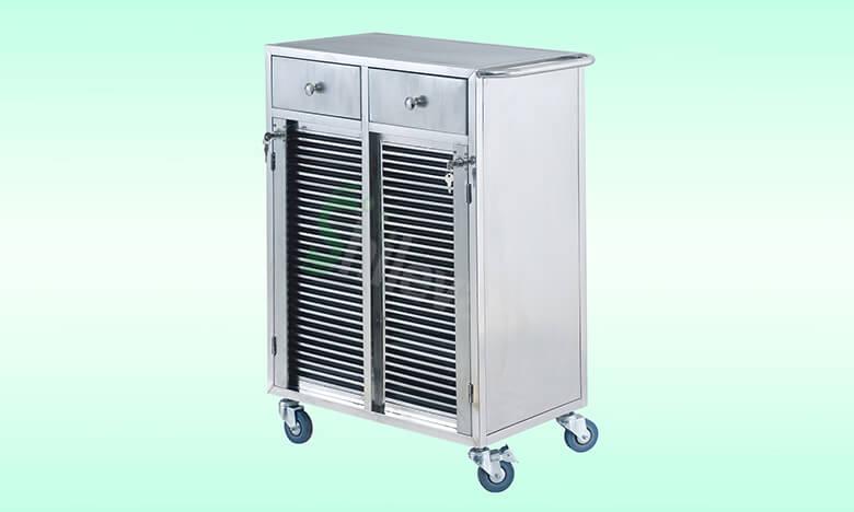 SLV-C4020病历夹车60格,Cart-for-Medical
