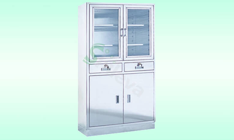 SLV-D4014不锈钢器械柜,Stainless-steel